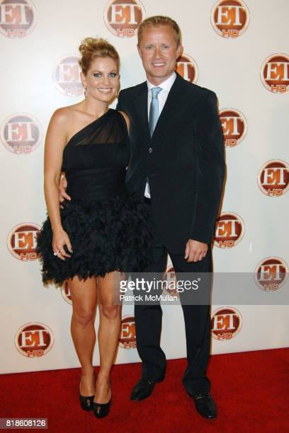 Candace Cameron Bure and Valeri Bure attend ENTERTAINMENT TONIGHT EMMY After Party at Vibiana on August 29, 2010 in Los Angeles, CA.