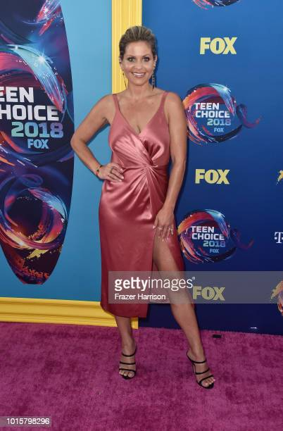 Candace Cameron Bure attends FOX's Teen Choice Awards at The Forum on August 12 2018 in Inglewood California