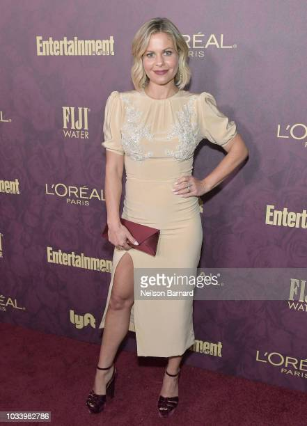 Candace Cameron Bure attends the 2018 PreEmmy Party hosted by Entertainment Weekly and L'Oreal Paris at Sunset Tower on September 15 2018 in Los...