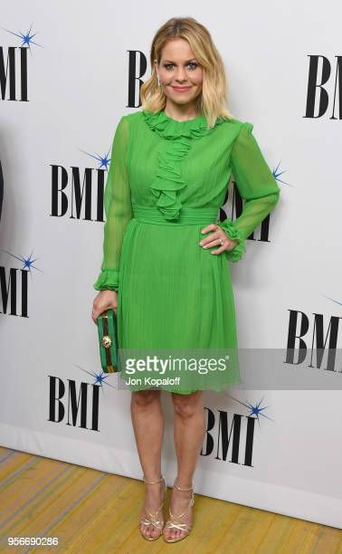 Candace Cameron Bure attends the 34th Annual BMI Film TV And Visual Media Awards at the Beverly Wilshire Four Seasons Hotel on May 9 2018 in Beverly...