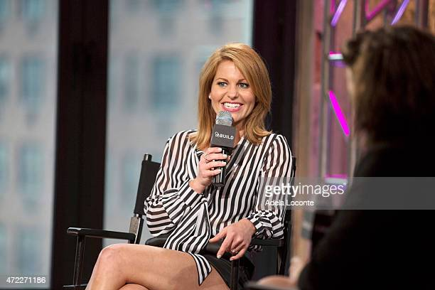 Candace Cameron Bure attends the AOL BUILD Speaker Series at AOL Studios on May 5 2015 in New York City