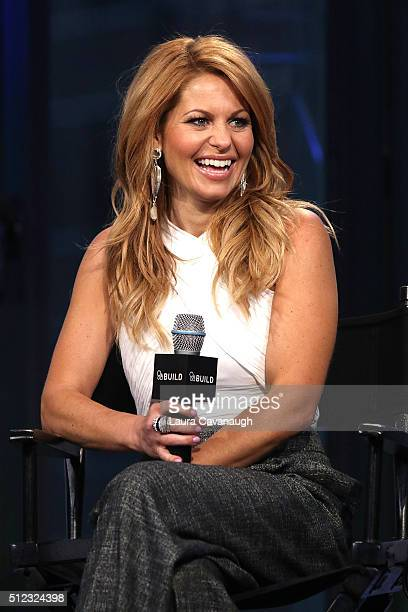 Candace Cameron Bure attends the AOL Build Speakers Series to discuss 'Fuller House' at AOL Studios In New York on February 25 2016 in New York City