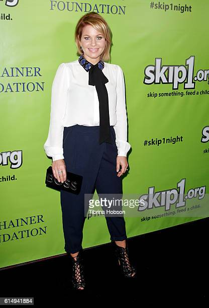 Candace Cameron Bure attends the Skip1 Night at Loews Hollywood Hotel on October 15, 2016 in Hollywood, California.