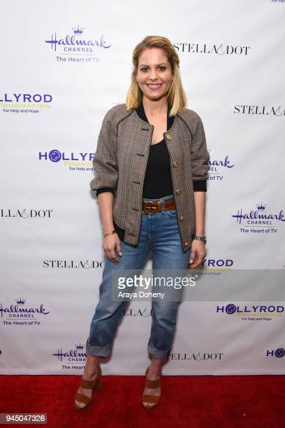 Candace Cameron Bure attends the Stella & Dot x HollyRod Foundation Charity Trunk Show for Autism Awareness Month on April 11, 2018 in Los Angeles,...