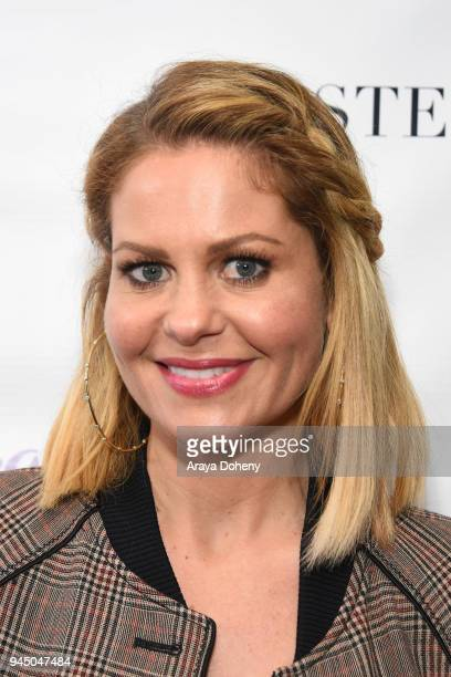 Candace Cameron Bure attends the Stella Dot x HollyRod Foundation Charity Trunk Show for Autism Awareness Month on April 11 2018 in Los Angeles...
