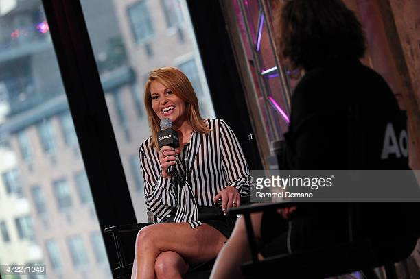 Candace Cameron Bure speaks at the AOL Build speaker series Candace Cameron Bure at AOL Studios In New York on May 5 2015 in New York City