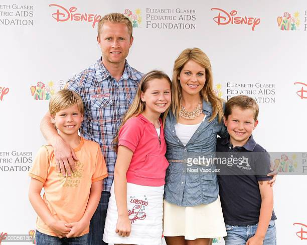 Candace Cameron Bure Valeri Bure and family attend the 21st annual A Time For Heroes celebrity picnic at the Wadsworth Theater on June 13 2010 in Los...