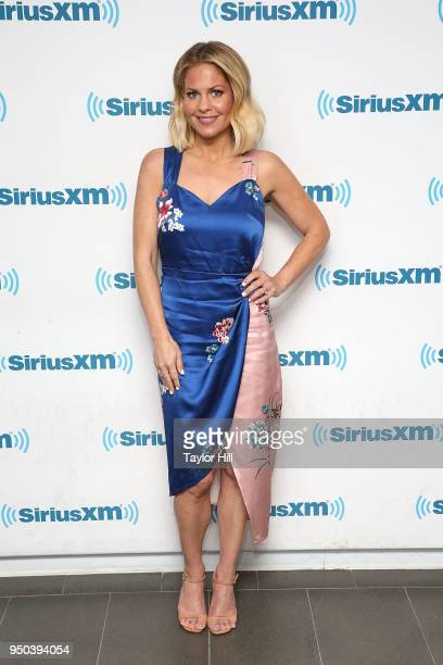 Candace Cameron Bure visits the SiriusXM Studios on April 23 2018 in New York City