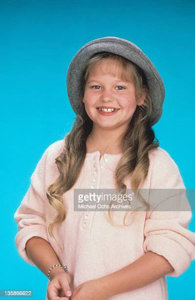 Candace Cameron publicity portrait from the television series 'Full House' 1987