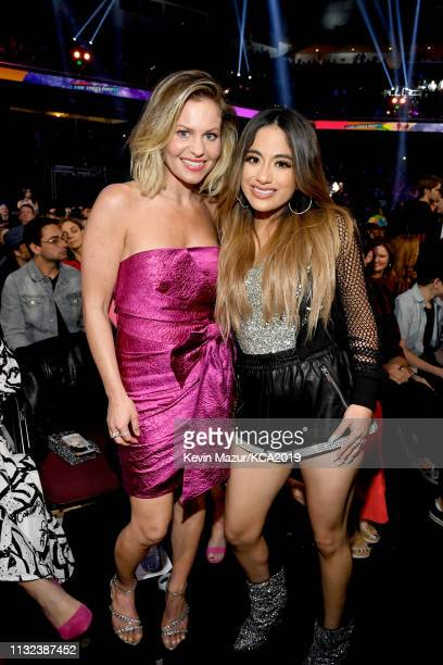 Candace CameronBure and Ally Brooke attend Nickelodeon's 2019 Kids' Choice Awards at Galen Center on March 23 2019 in Los Angeles California