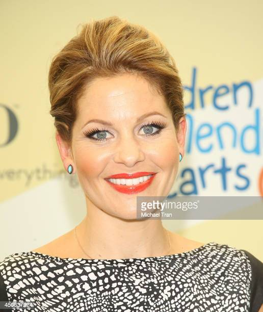 Candace CameronBure arrives at the Children Mending Hearts's 6th Annual Fundraiser Empathy Rocks A Spring Into Summer Bash held at a private...