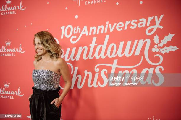 Candace CameronBure arrives at the Los Angeles special screening of Hallmark Channel's A Christmas Love Story at Montage Beverly Hills on October 21...