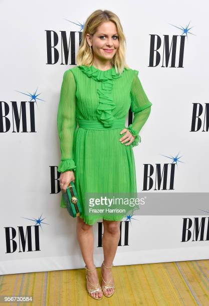 Candace CameronBure attends 34th Annual BMI Film TV Visual Media Awards attends at Regent Beverly Wilshire Hotel on May 9 2018 in Beverly Hills...