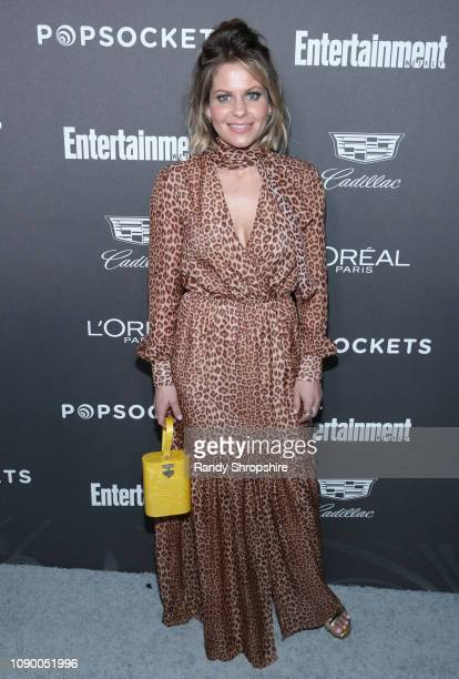 Candace CameronBure attends Entertainment Weekly Celebrates Screen Actors Guild Award Nominees sponsored by L'Oreal Paris Cadillac And PopSockets at...
