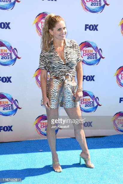 Candace CameronBure attends FOX's Teen Choice Awards 2019 on August 11 2019 in Hermosa Beach California