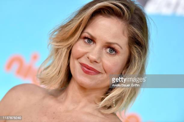 Candace CameronBure attends Nickelodeon's 2019 Kids' Choice Awards at Galen Center on March 23 2019 in Los Angeles California