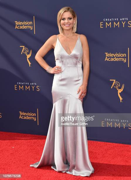 Candace CameronBure attends the 2018 Creative Arts Emmy Awards at Microsoft Theater on September 8 2018 in Los Angeles California