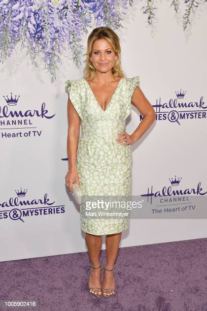 Candace CameronBure attends the 2018 Hallmark Channel Summer TCA at Private Residence on July 26 2018 in Beverly Hills California