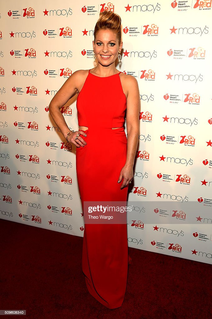 The American Heart Association's Go Red For Women Red Dress Collection 2016 Presented By Macy's - Arrivals : News Photo