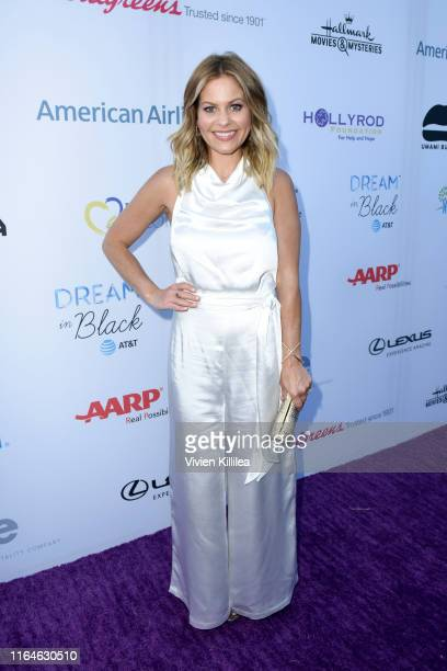 Candace CameronBure attends the HollyRod Foundation's 21st Annual DesignCare Gala on July 27 2019 in Malibu California
