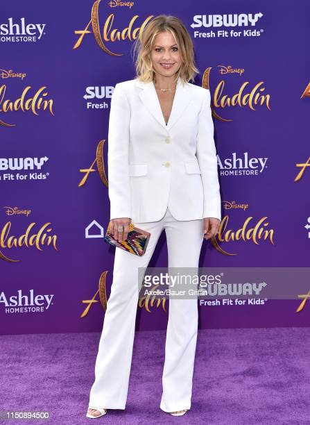 Candace CameronBure attends the premiere of Disney's Aladdin on May 21 2019 in Los Angeles California