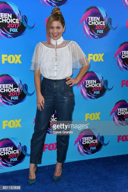 Candace CameronBure attends the Teen Choice Awards 2017 at Galen Center on August 13 2017 in Los Angeles California