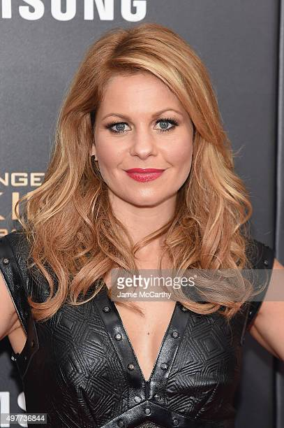 Candace CameronBure atttends The Hunger Games Mockingjay Part 2 New York Premiere at AMC Loews Lincoln Square 13 theater on November 18 2015 in New...