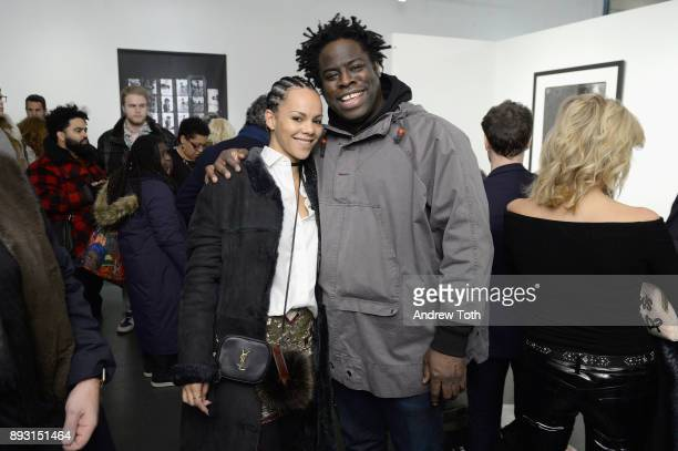 Candace Jones and Jeymes Samuel attend Robert Whitman Presents Prince 'Pre Fame' Private Viewing Event Exclusively On Vero on December 14 2017 in New...