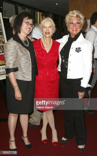 Candace Lee France Nuyen and Mitzi Gaynor attend AMPAS Screening Of Restored 70mm Print Of South Pacific on June 25 2010 in Beverly Hills California