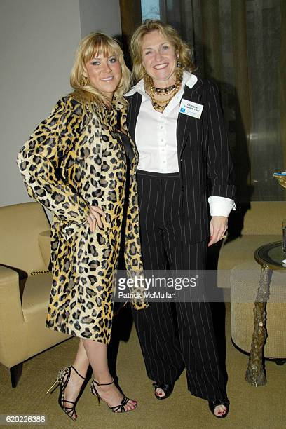 Candace Muzny and Cynthia Ekberg Tsai attend CESLIEThe Women's Network and NOF honor the Lefrak women with the Momentum Award hosted by Ceslie...