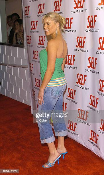 Candace Muzny during Hollywood Gets Healthy with Self Magazine Red Carpet and Inside at Fred Segal Beauty in Santa Monica California United States