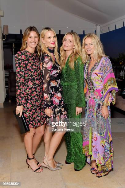 Candace Nelson Molly Sims Annabelle Wallis and Crystal Lourd attend Aerin Lauder Crystal Lourd and Jennifer Meyer Host a Dinner in Celebration of the...