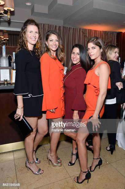 Candace Nelson, Rebecca Dane, Soleil Moon Frye and Selma Blair attend Rachel Zoe SS18 Presentation at Sunset Tower Hotel on September 5, 2017 in West...