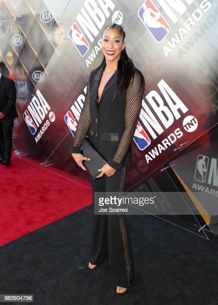 Candace Parker attends 2018 NBA Awards at Barkar Hangar on June 25 2018 in Santa Monica California