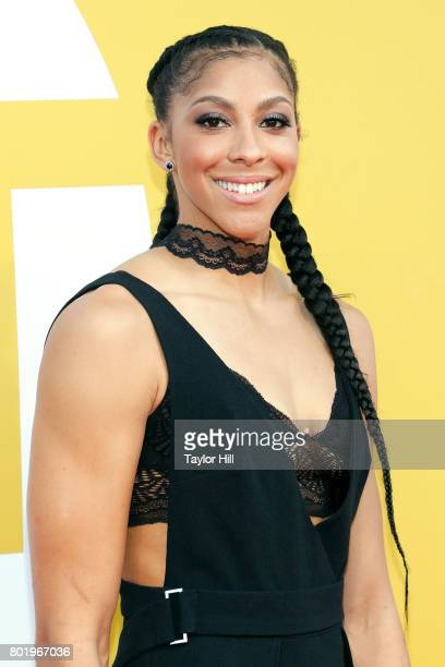 Candace Parker attends the 2017 NBA Awards at Basketball City Pier 36 South Street on June 26 2017 in New York City