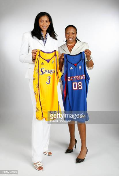 Candace Parker from the University of Tennessee the number 1 overall pick by the Los Angeles Sparks and Alexis Hornbuckle from Tennessee the number 4...