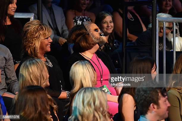 Candace Payne in audience during the 2016 CMT Music awards at the Bridgestone Arena on June 8 2016 in Nashville Tennessee
