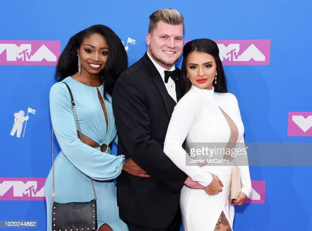 Candace Rice Codi Butts and Nilsa Prowant attend the 2018 MTV Video Music Awards at Radio City Music Hall on August 20 2018 in New York City