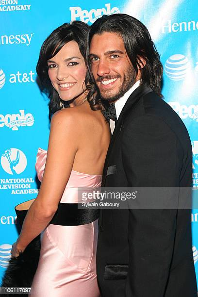 Candela Ferro and Erick Elias during 2nd Annual Leaders of Spanish Language Television Awards - Red Carpet at Time-Life Building at 1271 Avenue of...