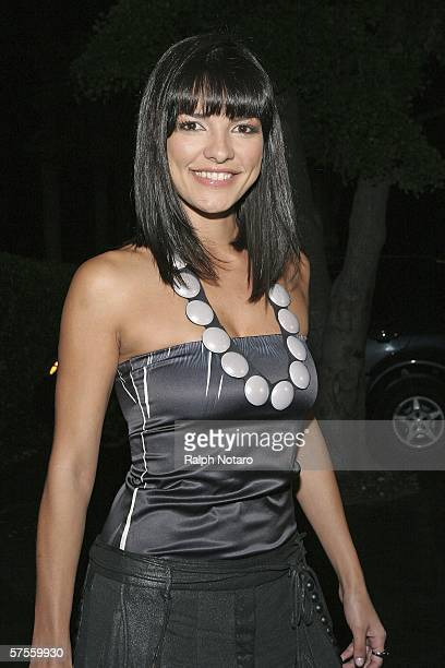 "Candela Ferro attends the ""Poseidon"" screenng VIP Gala on May 8, 2006 in Miami, Florida."