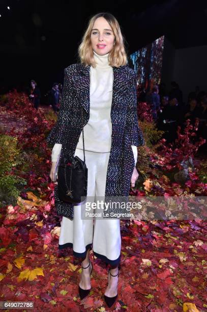 Candela Novembre attends the Moncler Gamme Rouge show as part of the Paris Fashion Week Womenswear Fall/Winter 2017/2018 on March 7 2017 in Paris...