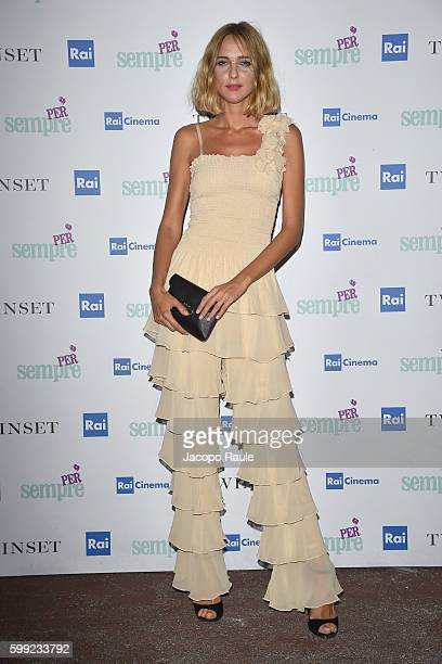 Candela Novembre attends the 'Per sempre' Screening and Party Hosted By Twin Set during the 73rd Venice Film Festival at on September 4 2016 in...