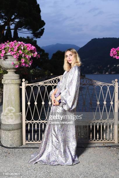 Candela Pelizza attends Bvlgari Splendida Tubereuse Mystique Event on July 09 2019 in Cernobbio Como Lake Italy