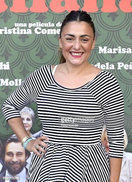 Candela Pena attends a photocall for 'Mi Familia Italiana' at Princesa Cinema on July 15 2015 in Madrid Spain