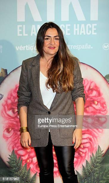 Candela Pena attends 'Kiki El Amor Se Hace' photocall on March 29 2016 in Madrid Spain