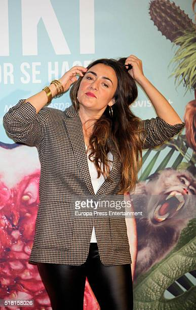 Candela Pena attends 'Kiki El Amor Se Hace' photocall on March 29 2016 in Madrid Spain