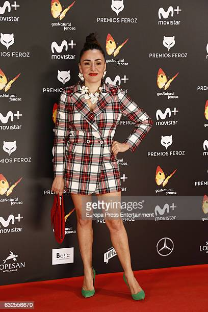 Candela Pena attends the 2016 Feroz Cinema Awards at Duque de Patrana Palace on January 23 2017 in Madrid Spain