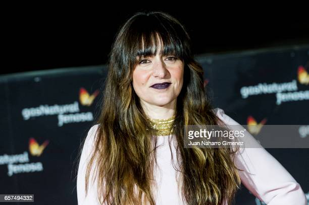 Candela Pena attends the 'El Jugador de Ajedrez' premiere on day 5 of the 20th Malaga Film Festival at the Cervantes Theater on March 24 2017 in...