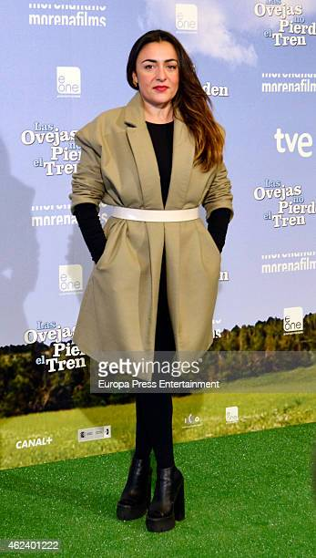 Candela Pena attends the photocall 'Las Ovejas No Pierden El Tren' at Palafox Cinema on January 27 2015 in Madrid Spain