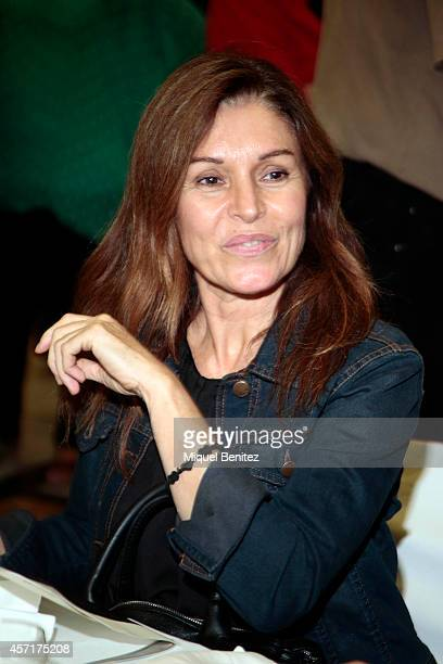 Candela Tiffon attends the 'Christa Leem Awards' on October 13 2014 in Barcelona Spain